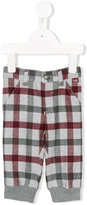 Il Gufo checked trousers - kids - Polyester/Spandex/Elastane/Viscose - 6 mth