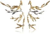 Aurelie Bidermann 18K gold-plated Brass Mimosa Articulated Earrings