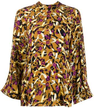 Schumacher Dorothee abstract print blouse