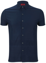 Hugo Darizona Short Sleeve Shirt Navy