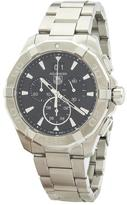 Tag Heuer Aquaracer Black Dial Chronograph Stainless Steel Watch (New with Tags)