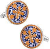 Cufflinks Inc. Men's Orange Firenze Petal Cufflinks
