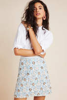 Maeve Persephone Beaded Mini Skirt