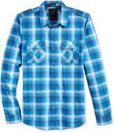 GUESS Men's Belmont Plaid Shirt
