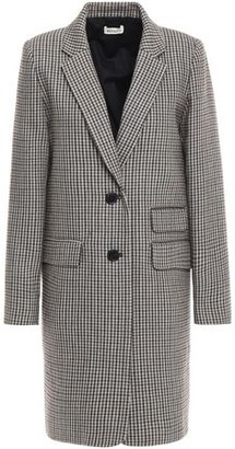 Masscob Brigitte Gingham Wool Coat
