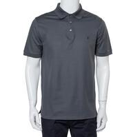 Thumbnail for your product : Louis Vuitton Grey Cotton Pique Polo T-Shirt L