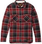 Neighborhood - Lumbers Checked Cotton-flannel Shirt