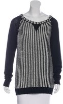 Rachel Zoe Wool-Blend Rib Knit Sweater w/ Tags
