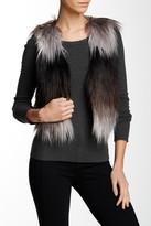 Tart Fyne Faux Fur Ombre Vest