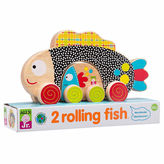 Alex Jr 2 Rolling Fish 2-pc. Discovery Toy