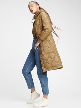 Gap Upcycled Quilted Puffer Coat