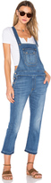 7 For All Mankind Crop Overall