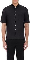 ATM Anthony Thomas Melillo Men's Cuban Shirt-BLACK