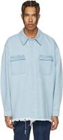 Marques Almeida Blue Denim Overshirt