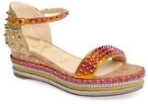 Christian Louboutin Women's Madmonica Espadrille Platform Sandal