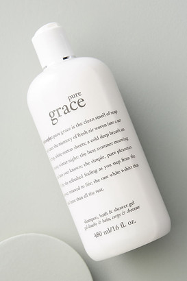 philosophy Pure Grace Shampoo, Bath + Shower Gel By in White Size ALL