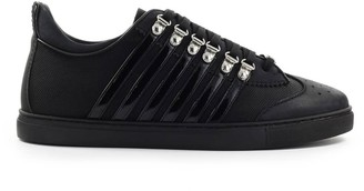 DSQUARED2 251 Low Sole Black Sneaker