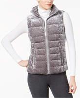 Calvin Klein Crushed-Velvet Vest