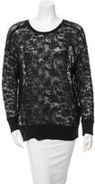 Raquel Allegra Oversize Lace Sweater w/ Tags