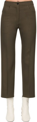Jil Sander Crop Wool Pants