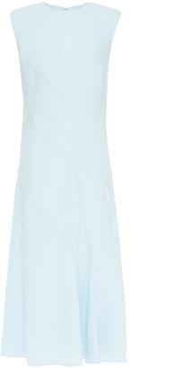 Cédric Charlier Stretch-crepe Midi Dress