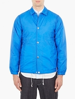 Comme Des Garcons Shirt Nylon Coach Jacket W Back Logo