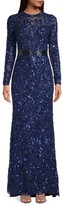Thumbnail for your product : Mac Duggal Sequin Column Gown