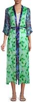 Nfc Julietta Open Front Tie-Dye Kimono