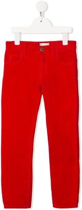 Gucci Kids straight-leg corduroy trousers