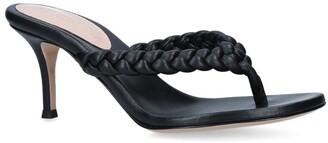 Gianvito Rossi Leather Tropea Sandals 70