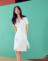 Ted Baker Crossover cotton dress