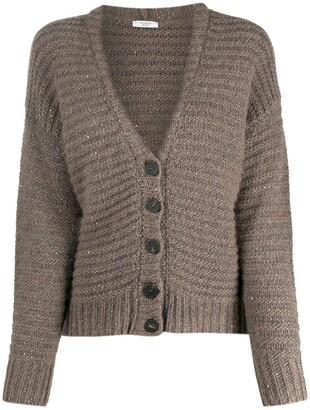 Peserico Chunky Knit Cardigan