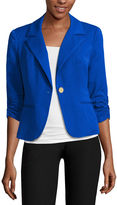 Hollywould Fitted Fit Woven Blazer - Juniors