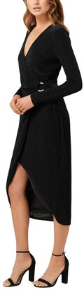 Ever New Effie Wrap O Ring Jersey Dress