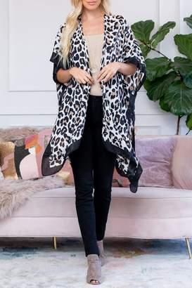 Riah Fashion Fall-Print Kimono Collection