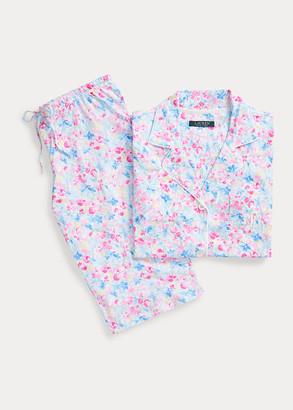 Ralph Lauren Floral Cotton Bermuda PJ Set