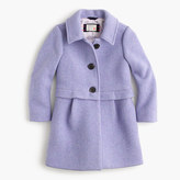 J.Crew Girls' stadium cloth A-line coat