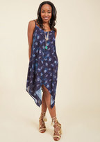 ModCloth Shell We Be Going? Midi Dress in XL
