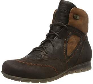 Think! Women's Menscha_585076 Desert Boots, (Espresso/Kombi 42)