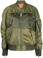 Diesel reversible bomber jacket