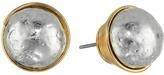 Robert Lee Morris Sculptural Bead Wire Wrapped Stud Earrings Earring