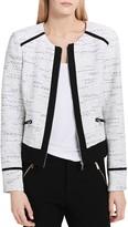 Calvin Klein Tweed Zip Jacket
