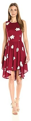 Olive + Oak Olive & Oak Women's Flowers Swing Dress