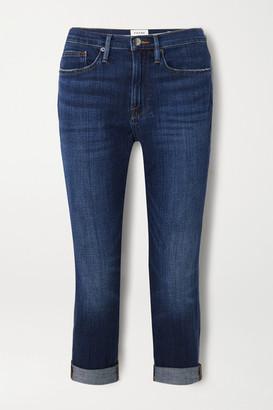 Frame Le Pixie Beau Slim Boyfriend Jeans - Mid denim