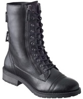 Mossimo Women's Keilani Lace-Up Combat Boot - Black