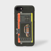 Paul Smith 'Leica Mini' Print Leather iPhone 7 Case