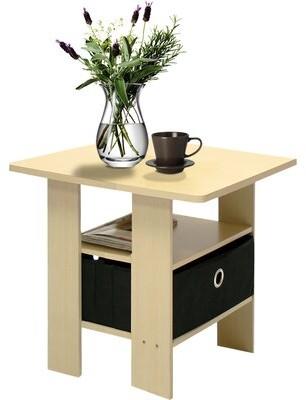 "Wrought Studioâ""¢ Kenton Petite End Table with Storage Wrought Studioa Color: Steam Beech"