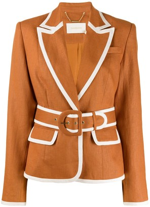 Zimmermann Super Eight trimmed blazer