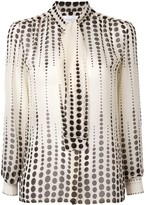 Giambattista Valli relaxed polka-dot blouse