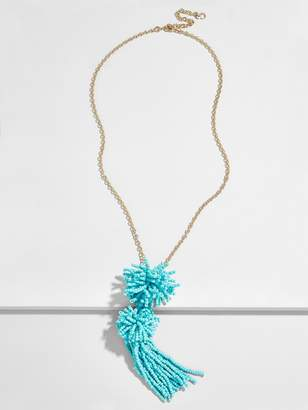BaubleBar Rishita Tassel Pendant Necklace